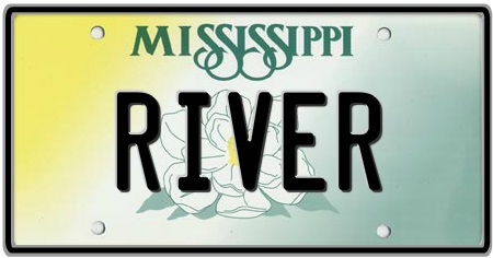 Mississippi State License Plate