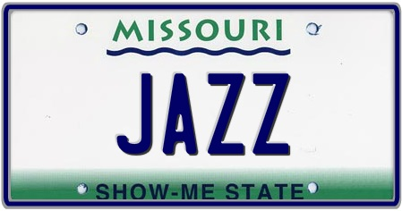 Missouri State License Plate
