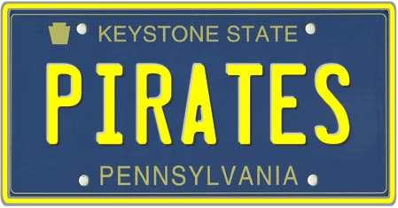 Pennsylvania License Plates Custom 1 State Plate